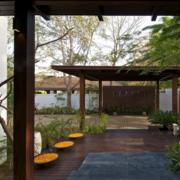 大气中式别墅庭院绿化设计