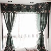 精致欧式飘窗窗帘设计