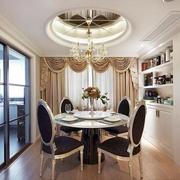 时尚经典美式乡村别墅客厅吊顶设计