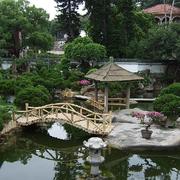 复古别墅入户花园设计