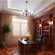 大气美式别墅飘窗装修设计