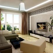 经典现代风格客厅设计