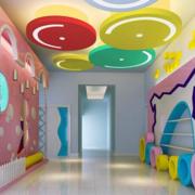 精美幼儿园墙饰装修设计