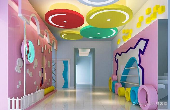 2015幼儿园墙饰设计装修效果图鉴赏