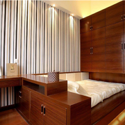 大气日式榻榻米床装修设计