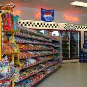 清新小户型超市货架设计