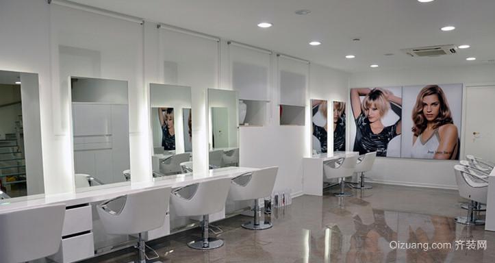 2015新潮范儿十足的美发店装修图欣赏
