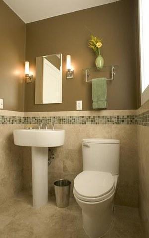 简约小面积卫生间装修效果图