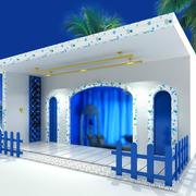 现代地中海阳台设计
