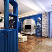 宜家美式客厅隔断装修设计