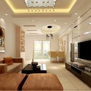 大气欧式客厅地板砖装修