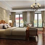 都市东南亚别墅卧室装修