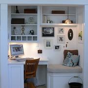 素雅欧式小书房装修