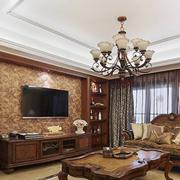 高档美式单身公寓装修设计