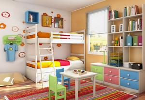 童话色彩儿童房装修效果图