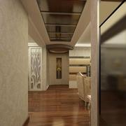 复古客厅走廊吊顶设计