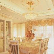 靓丽客厅石膏线装修设计