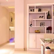 精美单身公寓室内鞋柜设计