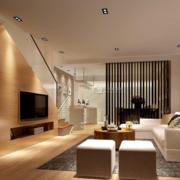 简约跃层式住宅楼梯装修设计