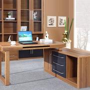 复古电脑办公桌装修设计