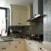 复古厨房整体橱柜设计