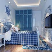 浪漫地中海卧室设计