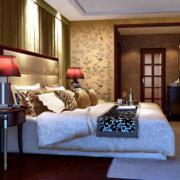 华美新中式卧室装修