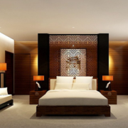 唯美新中式卧室装修