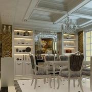 古典欧式客厅酒柜设计