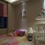 浪漫儿童房背景墙设计