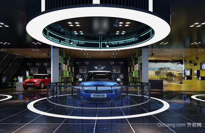 酷炫4s店汽车展厅装修设计效果图