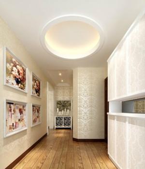 精美复式楼走廊吊顶设计