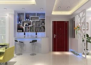 精致欧式客厅酒柜设计