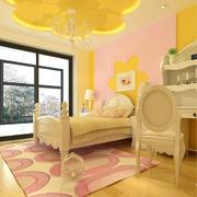 精致儿童房背景墙设计