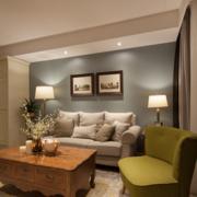 温馨沙发背景装修设计