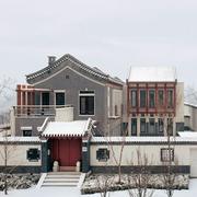 温馨中式乡村洋楼装修设计