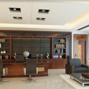 潮流办公室吊顶造型设计