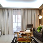 素雅小户型客厅装修设计