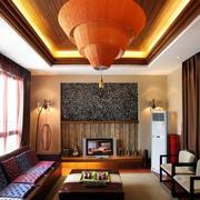 大气客厅背景墙装修设计