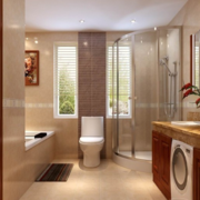 靓丽大户型欧式卫生间设计