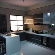 简洁欧式厨房欧派橱柜设计