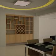 宜家欧式客厅酒柜设计