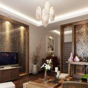 素雅东南亚客厅装修