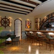 靓丽地中海风格酒吧设计