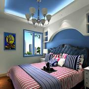 淡雅地中海卧室设计