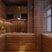 复古厨房橱柜装修设计