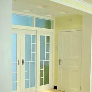 素雅厨房推拉门装修设计