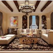 经典美式别墅飘窗装修设计