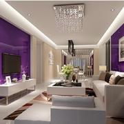 靓丽女式公寓客厅设计