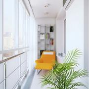 都市女式公寓阳台设计